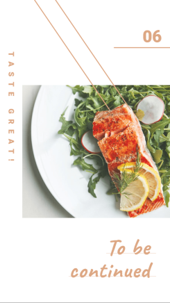 社交分享-美食分享海报