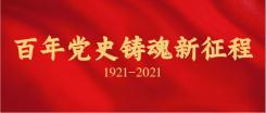 建党100周年党政公众号首图海报